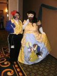 Beauty and the Beast Cosplay with Masks by snowtigra