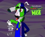 Mario and Luigi: the Mask Split personality by TimeLordParadox