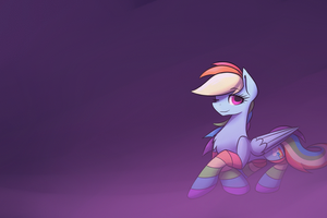 [GIF] Sleepy Rainbow by PonyBytes