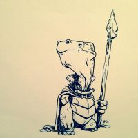 Inktober 2013 #01 by TheAmoebic
