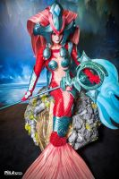 Koi Nami Cosplay - League of Legends - Japan Expo by NereideCosplay