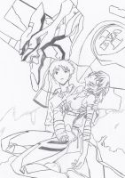 Happy 20th Anniversary, Evangelion!! 1994-2014! by Kaizer617