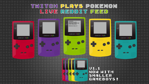 Twitch Plays Pokemon GameBoy Feed by aornat