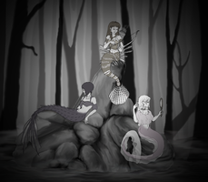 Sirens in the Woods by Valoscope