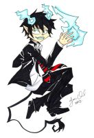 Braceface: Blue Exorcist by AnimeJanice