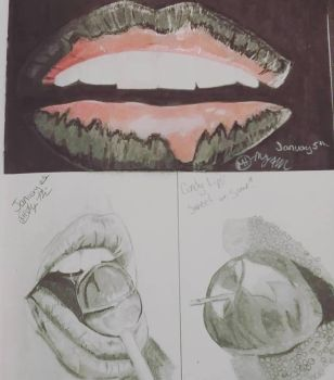 Lips by megalledAnn