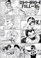 Deathnote Follies by GarthTheDestroyer