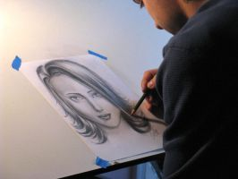 Picture of Drawing a Drawing by PinstripeChris