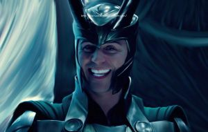 Avengers Loki I am happy by MrRiddlerr