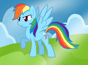 Rainbow Dash by NintenDash
