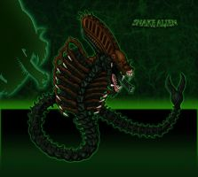 Snake Alien by Escama