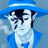 Blue Eyed Bogeyman by Caiwin