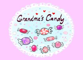 Candy label by Pancakeenthusiast