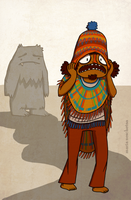 Sherpa or Peruvian Man by watermonster