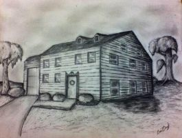 House perspective drawing by Ben3418