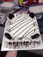 Stripes Cake by RisqueClique