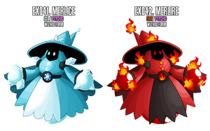 Fakemon: EX041 - EX042 - Legendary Wizards by MTC-Studio