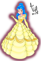 Levy as Belle by maahvictal