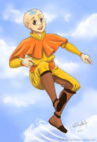 A is for Aang by ThePuddingMonster