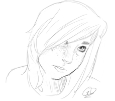 Sketchin' a Friend by Nalcania2