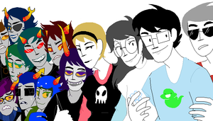 Homestuck: Weird Ass Picture by Kiotone