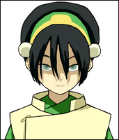Toph from Avatar by Solidishness