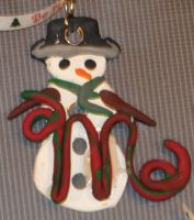 Ornament - Snowman by LeraDraco69