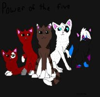 Power of the five by Tangle-Kitty