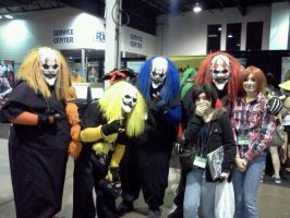 Anime Central: THE CLOWNS D8 by VickVicka