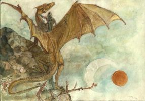 Pern dragon riders by Unita-N