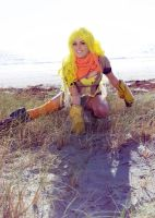 RWBY Yang (Yellow) Cosplay by Tiffany Dean by BabyGirlFallenAngel