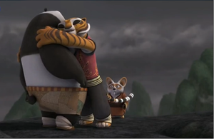 Tigress hugs Po for second time by Betabel1001