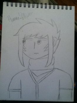 Human Oliver (D and D Character Sketch) by AstralMu