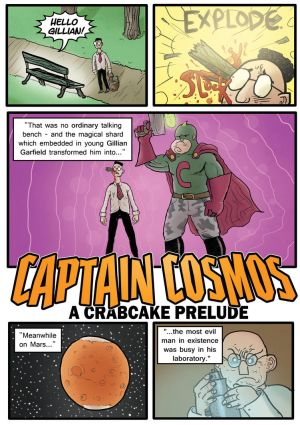 Crabcake 6 - 1 (Captain Cosmos) by crazyfoxmachine