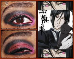 Eye Designs: Sebastian Michaelis by MakeupSiren