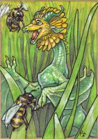 ACEO - Dandelion's Bumblies by KaiserFlames