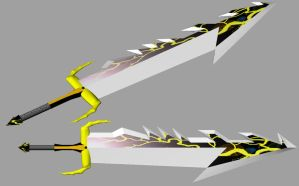 Thunder Dragon Blade 3D by TheMakuta