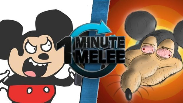 One minute melee Mokey vs Mike Mousse by GGArtwork