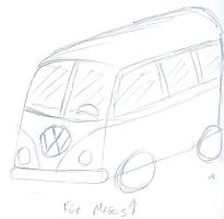 VW Minibus for Magus by Sorcyress