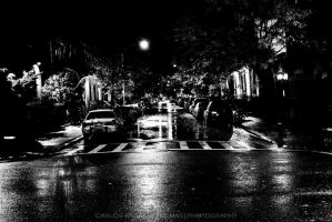 Wet Streets New York City Noir by carlosthomas