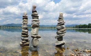Stone columns in Hungary by Tamas Kanya by tom-tom1969