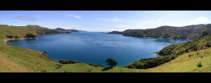Marlborough Sounds by fire