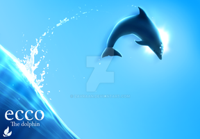 Ecco The Dolphin Poster by zavraan