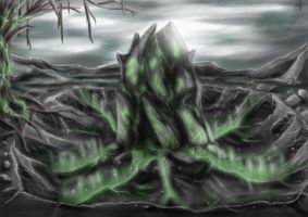 Exaro Environments - Corruption Stone by AaronQuinn