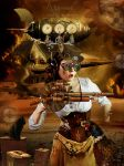 Steampunk flyght missing by annemaria48