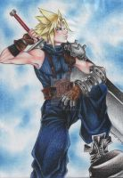 Cloud Dissidia-II by HerOnceWhiteWings