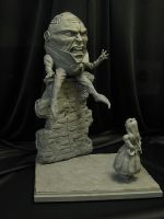 Humpty and Alice by Blairsculpture