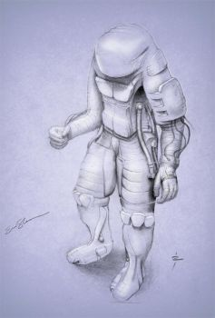 Enviro Suit Concept Sketch by ericshawn