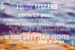 Funny Letters {Fonts} by Julieta7599