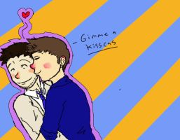 DESTIEL FLUFF by 16AngelWing16